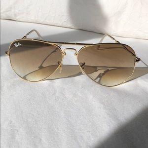 Foldable Rayban Aviator Sunglasses